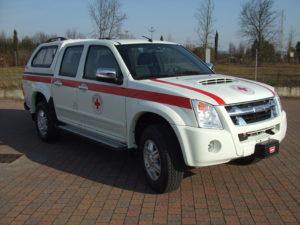Allestimento Croce Rossa Italiana