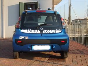 Allestimento Citroen C1 – Polizia Locale Rovolon PD