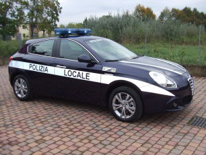 Allestimento Alfa Romeo Giulietta – Polizia Locale Malo VI