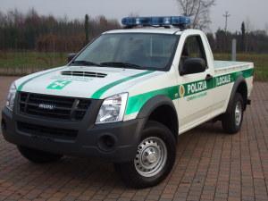 Allestimento Isuzu DMax – Polizia Locale Bergamo