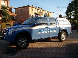 Isuzu DMax – Allestimento Polizia di Stato Atificieri