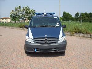 Allestimento Mercedes Vito Long – Polizia Locale dei Castelli VI