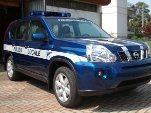 Allestimento Nissan XTrail – Polizia Locale Longare VI