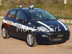 Allestimento Fiat Punto – Polizia Locale Dolce' VR