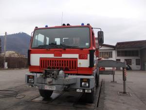 Allestimento Vigili del Fuoco – Autogru – Padova