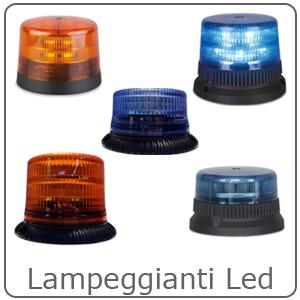 Lampeggianti Intav – LED – XENON – ROTANTI
