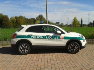 Fiat 500X – Polizia Locale Cumiana TO