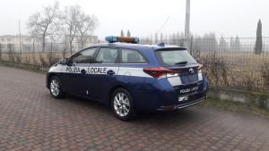 Toyota Auris SW Ibrida – Polizia Locale Alto Vicentino VI