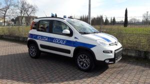 Fiat Panda 4×4 – Polizia Locale Castelnuovo Magra SP