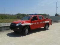 Allestimento VVF Isuzu D-Max Euro 5
