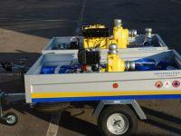 Carrello Motopompa  -Allestimento Protezione Civile Rovigo