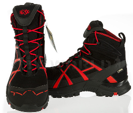 CALZATURA HAIX SAFETY 40 MID ROSSO