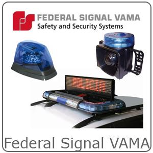 Lampeggianti FEDERAL SIGNAL VAMA 1