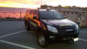 Isuzu DMax – Allestimento Carabinieri Nucleo Artificieri Antisabotaggio Genova