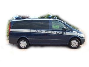 Allestimento veicoli ad uso speciale Polizia Locale