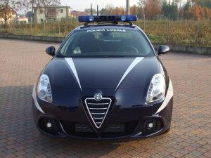 Allestimento Alfa Romeo Giulietta Polizia Locale