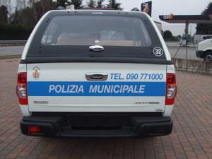 Allestimento Isuzu DMax – Polizia Locale Messina
