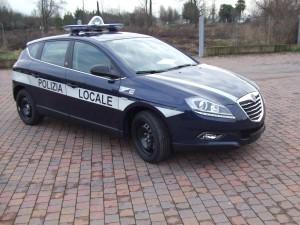 Allestimento Lancia Delta Polizia Locale