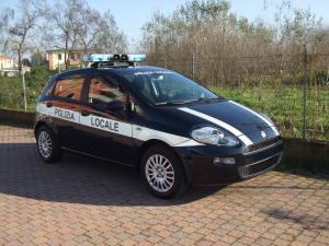Allestimento Fiat Punto Polizia Locale