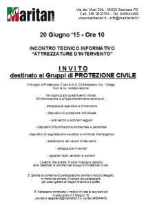 INCONTRO TECNICO INFORMATIVO del 20 Giugno '15