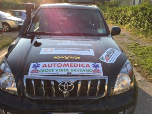 Italian Baja 2015 – automedica