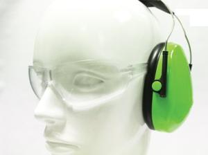 553 – occhiale per cuffie antirumore