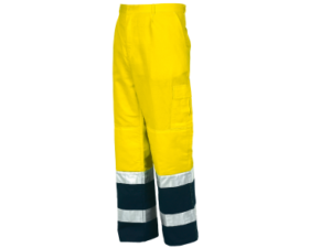 Pantalone lungo bicolore