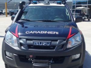 Isuzu D Max – Allestimento Carabinieri Soccorso Alpino