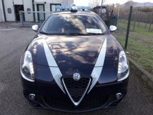 Allestimento Alfa Romeo Giulietta – Comune di Povegliano TV