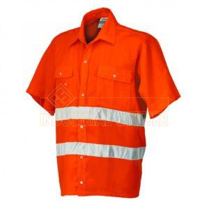 camicia da lavoro a manica corta