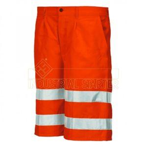 pantalone corto alta visibilità