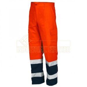 pantalone alta visibilità bicolore