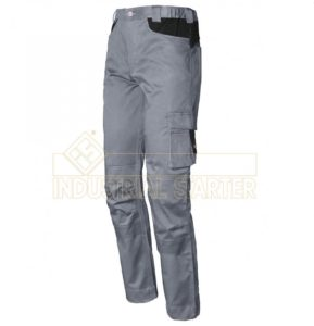 pantalone issa grey/black