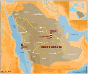 Sponsorizzazione DAKAR 2020 ARABIA SAUDITA