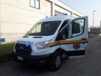 furgone 4×4 protezione civile