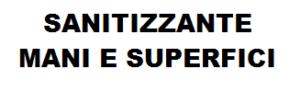 SANITIZZANTE MANI E SUPERFICI SPRAY