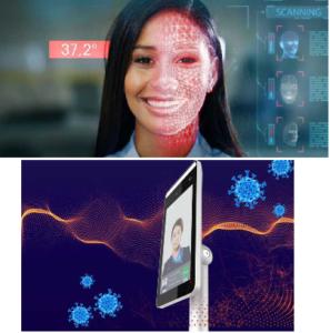 Scanner automatico per temperatura corporea