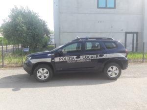 ALLESTIMENTO DACIA DUSTER – POLIZIA LOCALE MONSELICE PD