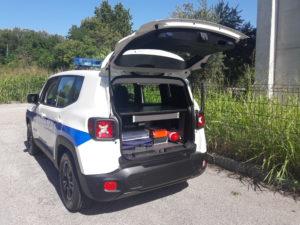 ALLESTIMENTO VEICOLO JEEP RENEGADE – POLIZIA LOCALE FONTANAFREDDA PN
